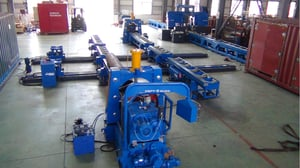 High Speed Pipe Band Saw Cutting Machine And Pipe End Beveling Machine