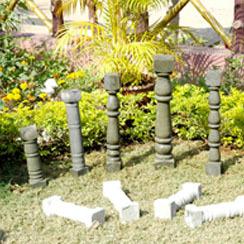 Heavy Sandstone Pillar
