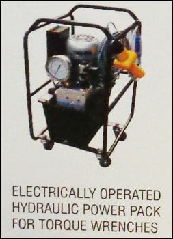 Electrically Operated Hydraulic Power Pack For Torque Wrenches