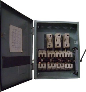 Industrial Change Over Switch Fuse