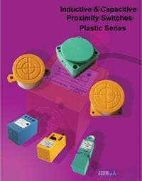Plastic Inductive And Capacitive Proximity Switches