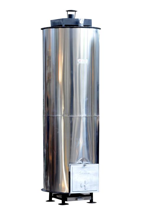 Wood Fired Steel Water Heater in  Gotri (Vdr)
