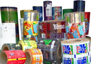 Printed Polyester Laminated Rolls