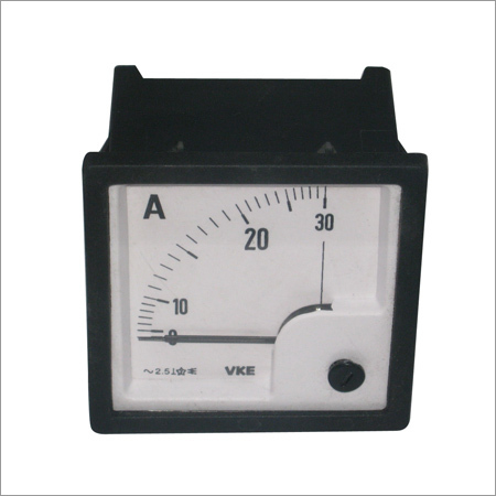 Ammeter Self Clamping (30A AC 72mm)