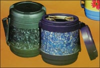 Insulated Tiffin With Belt And Handle