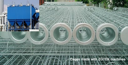 Steel Wire Bag Cages