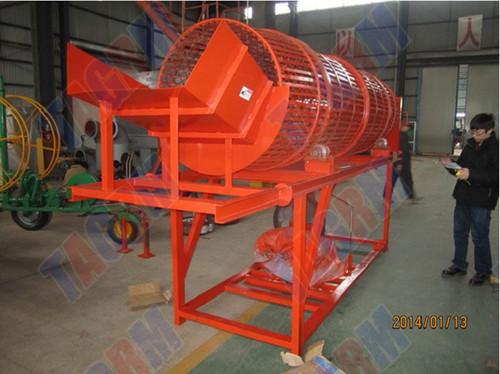 Cassava Peeling Machine in Nanning, Guangxi - China Tropical