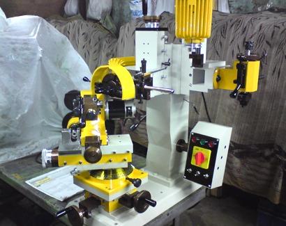 Ring Zig Zag Diamond Cut Faceting machine