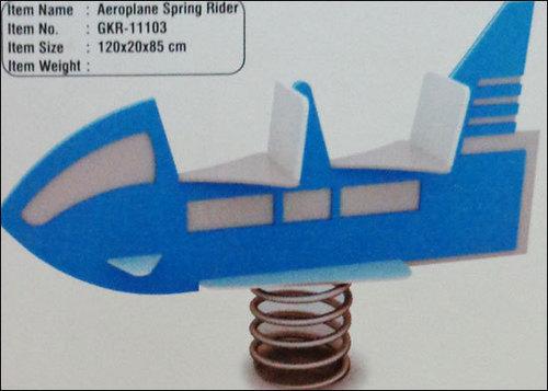 Aeroplane Spring Rider (Gkr-11103)
