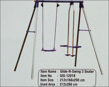Glide-N-Swing 3 Seater (Gis-12018)