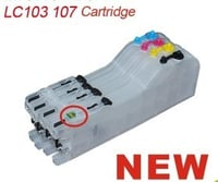 Brother LC101 103 105 Refillable Ink Cartridge With ARC Chips