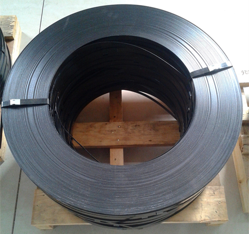 Black Painted Packaging Steel Strappings