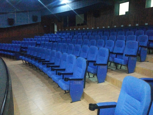 Auditorium Blue Color Chair