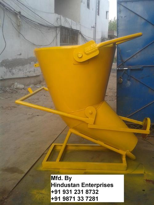 Column Filling Concrete Bucket