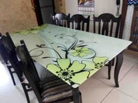 Table Glass Printing Service