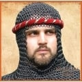 Chainmail Coif Black