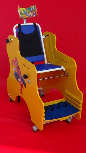 Cp Chair With Activity Tray And Inclined Seat And Back