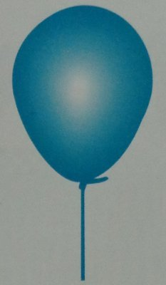 Birthday Party Baby Blue Balloons