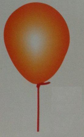 Birthday Party Orange Balloons