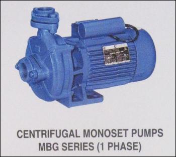 Centrifugal Monoset Pumps Mgs Series (1 Phase)