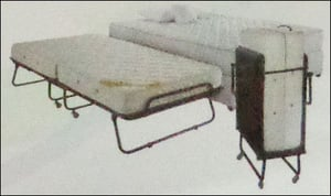 Roll-Away Foldable Bed