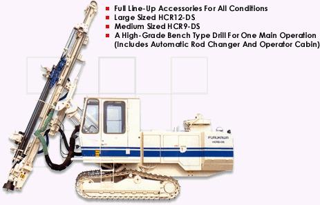 Crawler Drill Rental Service