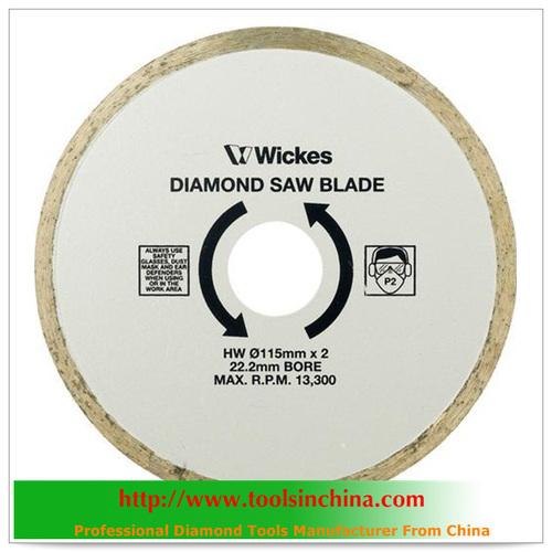 Diamond Saw Cutting Blade