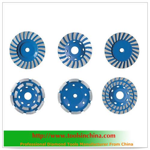 Vacuum Brazed Diamond Cup Wheel
