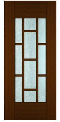 Modern Wood Glass Doors