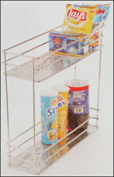 Kitchen Perforated Bottle Pullout