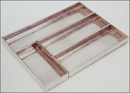 Kitchen Pullout Perforated Box Cutlery