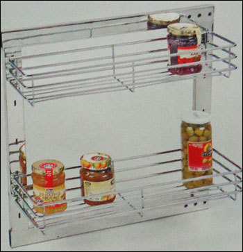 Kitchen Side Mounted Pullout S.S. Mechanism
