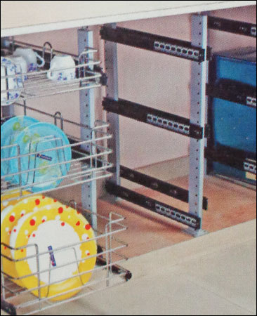 Kitchen Cabinet Pole System