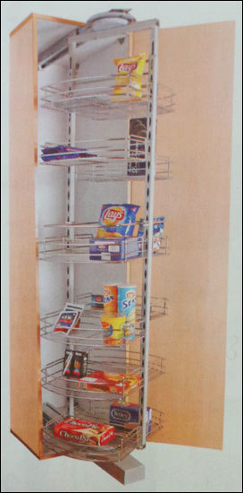 Kitchen Roto Pantry Unit