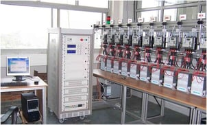 Fully Automatic Meter Test Bench