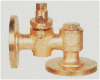 Bronze Combined Cock And Feed Check Valves