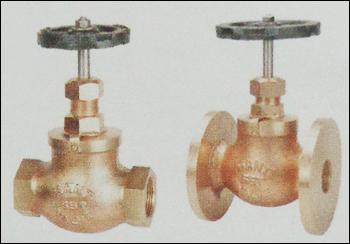Bronze Globe Steam Stop Valves