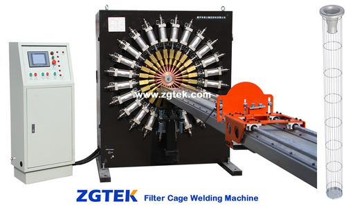 Filter Cage Welding Machinery in   Xincheng Subzone