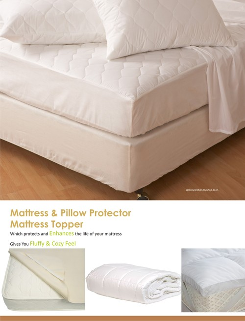 White Mattress Cover in  Tonk Road