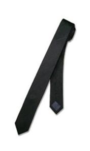 Black Skinny Necktie