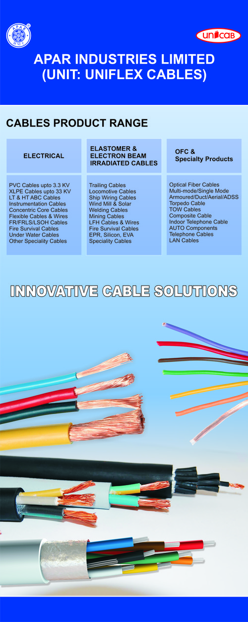 Electric Optic Fibre Cables