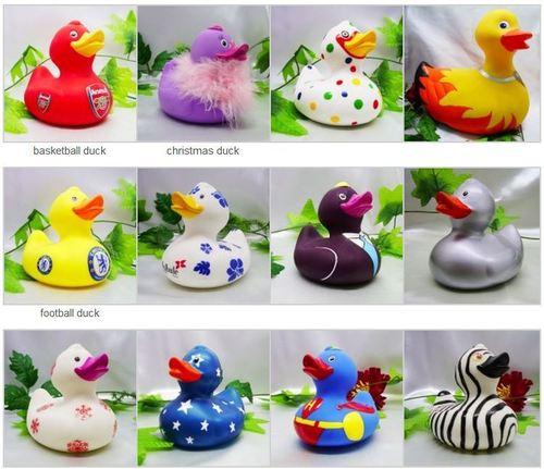 Plastic Pvc Bath Duck
