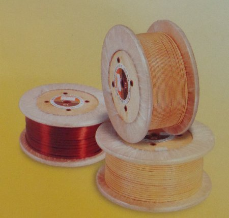 Fiber Glass-Covered Copper Winding Wires