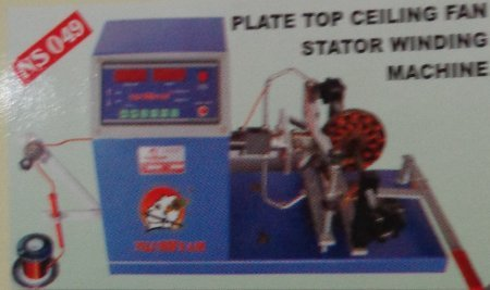 Plate Top Ceiling Fan Stator Winding Machine