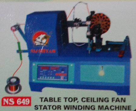 Table Top Ceiling Fan Stator Winding Machine in  Bapunagar