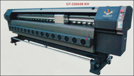 Solvent Printer With Konica Minolta 512 42/35pl Head (Gt-3304/08 Kh) in  Chuna Mandi  (Paharganj)