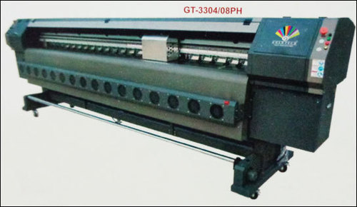Solvent Printer With Xaar Proton 382 Head (Gt-3304/08ph)