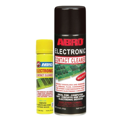 Abro Electronic Contact Cleaner