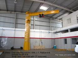 Free Standing Column Jib Crane