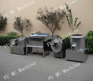Chips Processing Line